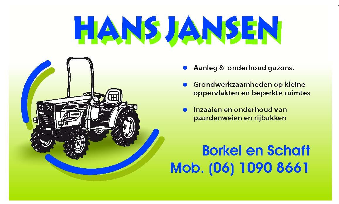 Compact Loonbedrijf Hans Jansen