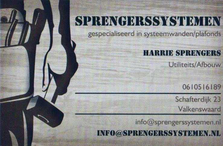 Sprenbers systemen